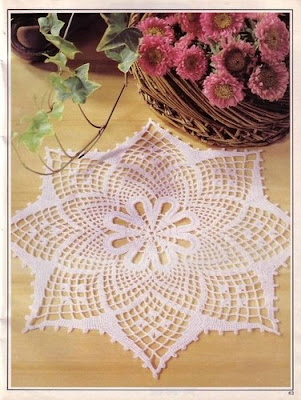 Carpeta tejidas a ganchillo o crochet